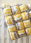 FREE PATTERN: Baby Puff Quilt (Sew-it...today Magazine)