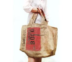 Market Tote With Graphic