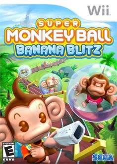Super Monkey Ball: Banana Blitz (Nintendo Wii, for sale online Wii Games, Nintendo Games, Fun Games For Kids, Games To Play, Family Boards, New Puzzle, Game Sales, Wii Controller, Best Graphics