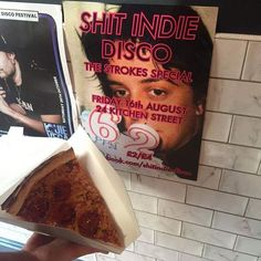 shitindiedisco/2016/09/11 05:40:37/Our mates at @americanpizzaslice let us put a poster up and also cured our hangovers. 🍕🍕🍕 .  #band #indie #shitindiedisco #indieamnesty  #liverpool #24kitchenstreet #dance #arcticmonkeys #thekooks #blocparty #kaiserchiefs #thekillers #foals #hardfi #maximopark #razorlight #thestrokes #libertines #kingsofleon #alexturner #camden #nme #vampireweekend #thekillers #kasabian #thestrokes #juliancasablancas #weekend #pizza
