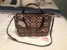 Available @ TrendTrunk.com Coach Bags. By Coach. Only $111.95!