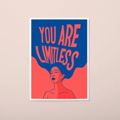 Women are limitless. All Print, Gifts For Friends, Illustration, No Response, Etsy Seller, Joy, Colours, Texture, Artwork