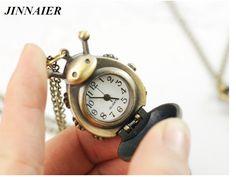 free drop shipping 1pcs hot sales fashion Retro Necklace watch Beetle hanging watch beetle pocket watch