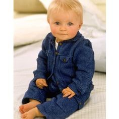 Baby+Denim+Collection+-+Knitting+Pattern