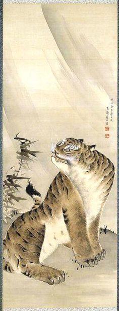 Soga Shōhaku  (1730–1781)  Япония