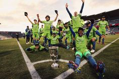 Sounders win West finals, are MLS Cup-bound Seattle Sounders, Seattle Seahawks, Mls Cup, Western Conference, Yesterday And Today, Champs, Finals, Kicks, Soccer