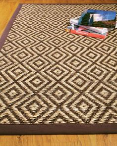 Wow your family and friends with the vibrant Kerman rug from Natural Area Rugs. Hand crafted from rugged sisal, it harmonizes perfectly with wood furniture.
