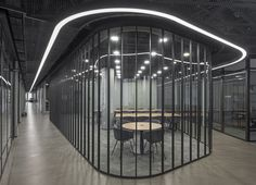 Meeting room. Office interior project by ARCH(E)TYPE. #archetype #office #interior #glass #meetingroom