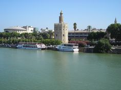 Seville River Cruise - Never got to this unfortunately, but walked along the river bank and saw the Golden Tower - seen in this picture.