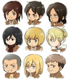 These are the best aot characters! (sorry Levi!)
