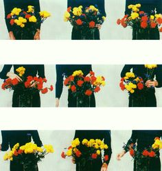 "avtavr: "" bas jan ader (detail of) untitled (flowerwork), 1974 """