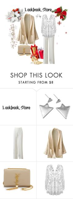 """Lookbook Store 2"" by sarahguo ❤ liked on Polyvore featuring Michael Kors, Yves Saint Laurent and Oscar de la Renta"