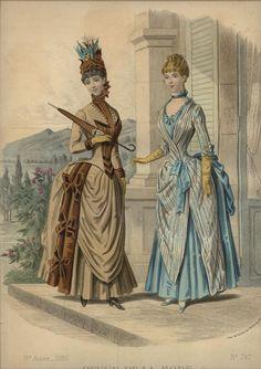 LA REVUE DE LA MODE  ... dated April 25, 1886
