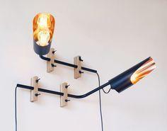 Wandlampe Kupfer