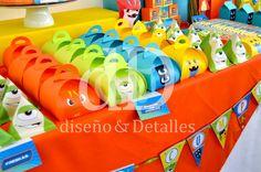 Fiesta Temática Mesa De Dulces Infantil Bajoterra - $ 120.00 Pokemon, Ideas Para, Ale, I Am Awesome, Party, Moana, Avengers, Marvel, Google