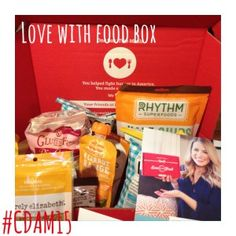 Love With Food #Giveaway with #CDAM15 and Celiac and the Beast @gfreefoodie1