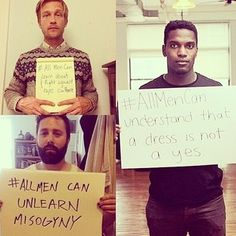 Because actual feminism is not about demonizing men. | 19 Reasons Every Man Should Be A Feminist