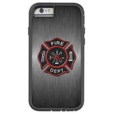 Firefighter Deluxe Tough Xtreme iPhone 6 Case  firefighter dad, firefighter quotes girlfriend, firefighter bedroom ideas #fireservice #futurepoliceofficer #carnevale2019 Iphone 5c Cases, Iphone 6 Plus Case, 5s Cases, Iphone Wallet, Iphone 7, Otter Box, Ipad Mini Cases, Ipad Air Case, Firefighter Bedroom