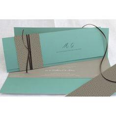 Faire part mariage « Elégance turquoise Turquoise, Wedding Invitations, Deco, Elegant, Wedding Ideas, Classy, Green Turquoise, Wedding Invitation Cards, Decor