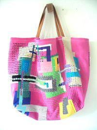 modern quilting bag