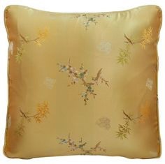 Chinese Silk Pillow - Cherry Blossom & Bamboo, Gold (#43) by ChinaFurnitureOnline, http://www.amazon.com/dp/B004RCUNLI/ref=cm_sw_r_pi_dp_af.Sqb0BXEXP8