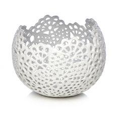 Wilko Decorative Lace Bowl White at wilko.com