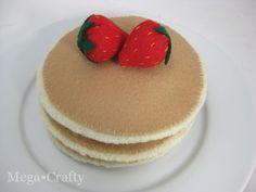Mega•Crafty: Felt Food: Pancakes Anyone?