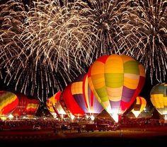 Albuquerque Ballon Fiesta!  I can't wait to go back with Alaina!