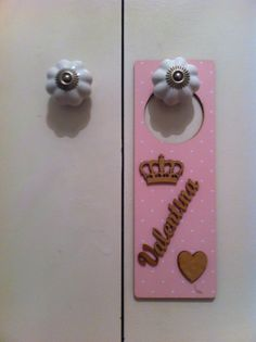 DIY - Colgador puerta Valentina