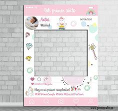 Photocall unicornio para fiestas infantiles, cumpleaños, bautizos, babyshowers, etc.. #photocall #unicornio
