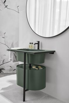 Mobile lavabo singolo con ante KYROS by Ceramica Cielo Bathroom Furniture, Bathroom Interior, Modern Bathroom, Gold Bathroom, Small Bathroom, Master Bathroom, Bathroom Ideas, Bad Inspiration, Bathroom Inspiration