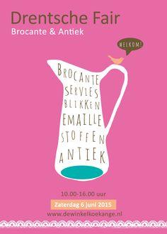 Jaarlijkse poster ontwerp voor de Drentsche Fair in Koekange.