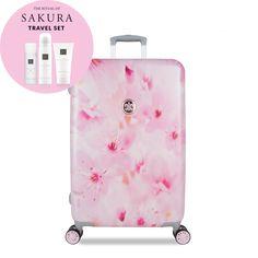 SuitSuit Sakura Blossom Trolley 67cm Spinner + Rituals Geschenk