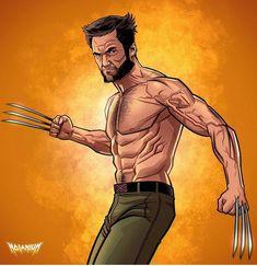 "Comic Art /Wolverine Art on Instagram: ""More Wolverine Art by @nolanium !!! #hughjackman @thehughjackman #art #artwork #artist #wolverinestuff #wolverinefans #wolverinefanatic…"" Wolverine Movie, Wolverine Art, Comic Art, Comic Books, Old Man Logan, Hugh Jackman, Marvel Cinematic Universe, X Men, Marvel Comics"