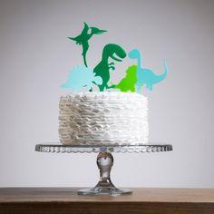 Image result for girl dinosaur cake topper