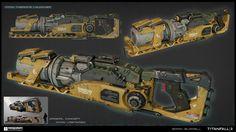 ArtStation - Thermite Launcher - Titanfall 2, Brian Burrell
