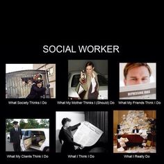 & more social work humor ... trust me we need it