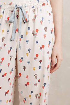 sleeping in style New Arrivals hot air balloon pyjamas Cute Pjs, Cute Pajamas, Comfy Pajamas, Satin Pyjama Set, Pajama Set, Womens Fashion Online, Latest Fashion For Women, Pyjamas, Sleepwear & Loungewear