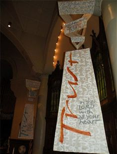 worship banners art in the church - Yahoo Image Search Results