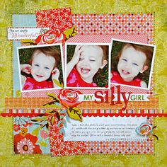 3 pix, title & journalling placement, stitching around square, pp mix