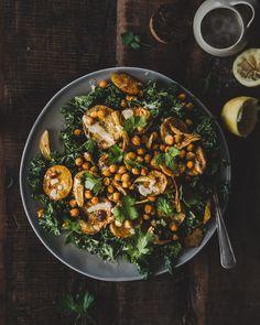Tahini, Soup And Salad, Paella, Feta, Potato Salad, Scandinavian, Salads, Recipies, Curry