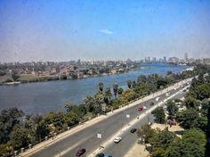 The Nile at Maadi, Egypt