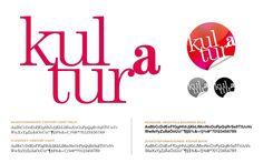 Erscheinungsbild für kulturª im Auftrag der Kultur Service Gesellschaft Graz Identity, Books, Movie Posters, Design, Graz, Culture, Kunst, Pictures, Livros