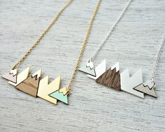 Short+Arctic+Necklace+signature+necklace+snowy+by+shlomitofir,+$63.00