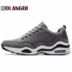 BOLANGDI Classic Air Cushion Running Shoes Men Outdoor Retro Sports Sneakers Trainers Walking Jogging Shoes Man Athletic Shoes
