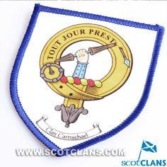 Carmichael Clan Crest Sew on Patch
