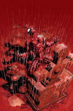 Amazing Spider-Man #525 The Other cover by Mike Deodato Jr.