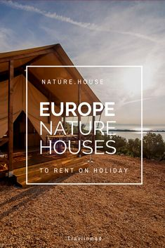 If you're looking for unique houses for rent in Europe — holiday rentals surrounded by nature — check out these unique and sustainable nature house accommodations from local landlords across Europe. Nature.House has more than 10,000 houses to rent, and plants trees for each rental to help offset the impact of tourism. How cool is that? #Europe #holidayrentals