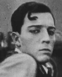 """Buster Keaton in """"The Cook"""" (1918)"""