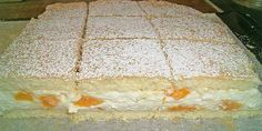 Kuchen und andere Rezepte: Mandarinen – Quark – Schnitten - DIY and crafts - Yorgo Angelopoulos Baking Recipes, Cake Recipes, Dessert Recipes, German Desserts, Sweet Bakery, Cakes And More, Cake Cookies, No Bake Cake, Food Inspiration